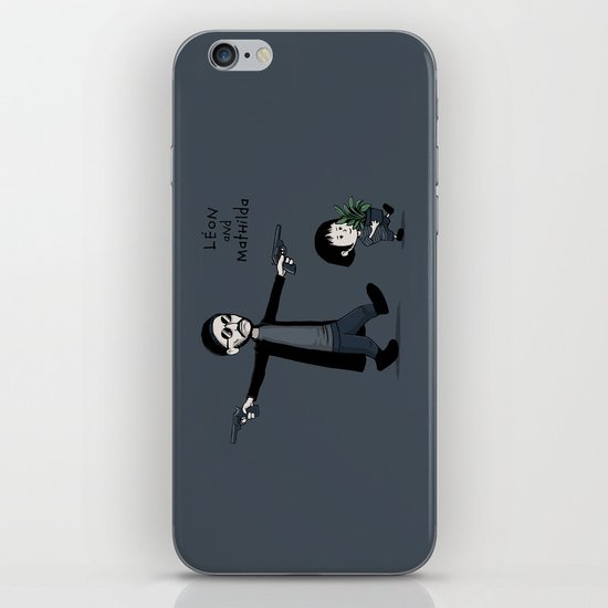 Leon and Mathilda iPhone & iPod Skin