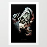 For Cthulhu Art Print