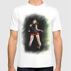 live for Dance SMALL White Mens Fitted Tee