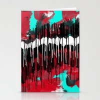 Run From What You Need Stationery Cards