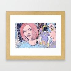 Rude Girls Framed Art Print