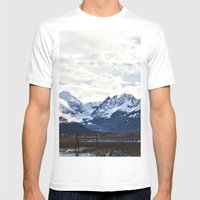 Beautiful Alaska Mens Fitted Tee White SMALL