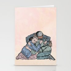 Stranger Things Hug Stationery Cards