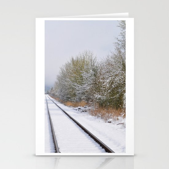 Remnants of a Simpler Time - The Tracks Stationery Card