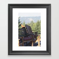 Breathe In Framed Art Print