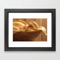 Bread Basket Framed Art Print