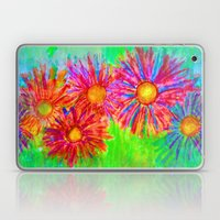 Bright Sketch Flowers Laptop & iPad Skin
