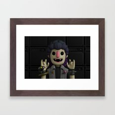 HEAVY METAL Framed Art Print