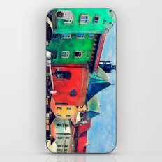 Cracow city art iPhone & iPod Skin