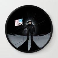 Lunar Walk Wall Clock
