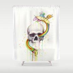Adventure Through Time A… Shower Curtain