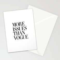 More Issues Than Vogue Stationery Cards