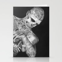 ZOMBIE BOY Stationery Cards