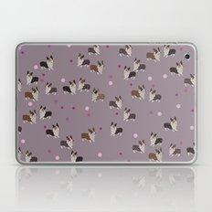 pink dot corgis Laptop & iPad Skin