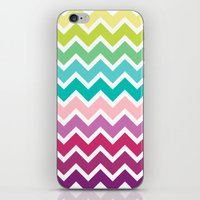 Summer Chevron iPhone & iPod Skin