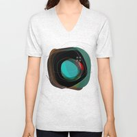 the abstract dream 8 Unisex V-Neck
