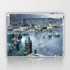 Earth Falls Away Laptop & iPad Skin
