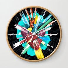 I love you thiiiiis much Wall Clock