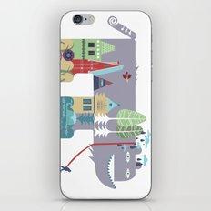 walking beast iPhone & iPod Skin
