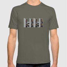 Salk Institute, Louis Ka… Mens Fitted Tee Lieutenant SMALL