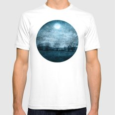 Rain Of Stars Mens Fitted Tee White SMALL