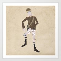Timmy And His Performing… Art Print