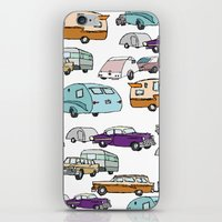 Cars And Campers iPhone & iPod Skin
