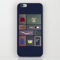 Eleven (Doctor Who) Colors iPhone & iPod Skin