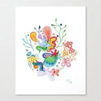 Aquatic Mood Canvas Print