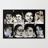 MJ Eras Canvas Print