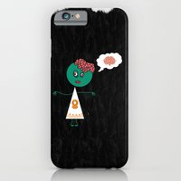 iPhone & iPod Case featuring Zombie Girlfriend by Li9z