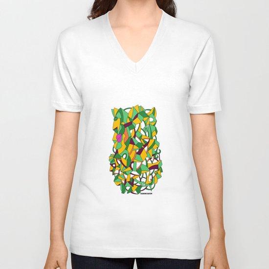 - before mutation - V-neck T-shirt