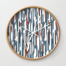 Autumn Lines Wall Clock