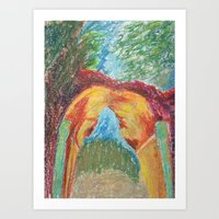 Abstract Landscape III Art Print