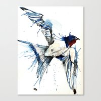 My Swallow Canvas Print