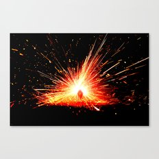 Theory of Combustion Canvas Print
