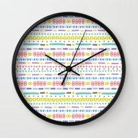 Retro Motivo Wall Clock