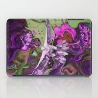 Freedom purple iPad Case
