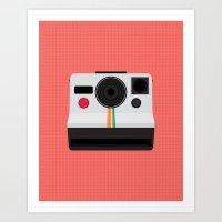 Polaroid One Step Land C… Art Print