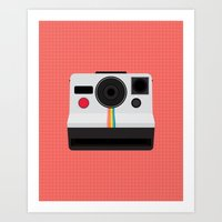Polaroid One Step Land Camera Art Print