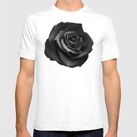 Fabric Rose Mens Fitted Tee White SMALL
