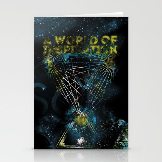 A World of Inspiration Stationery Card