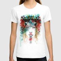 princess T-shirts featuring princess by Irmak Akcadogan