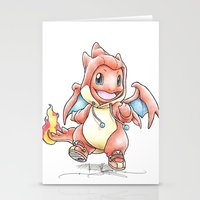 Y The Sudden Change Of H… Stationery Cards