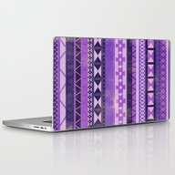 Native Spirit (Purple) Laptop & iPad Skin
