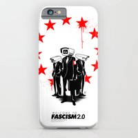 iPhone & iPod Case featuring fascism 2.0 by blackmask