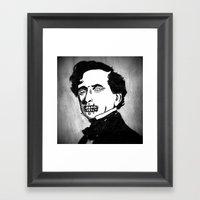 14. Zombie Franklin Pier… Framed Art Print