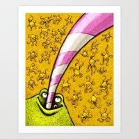 Lemonade 2/3 Art Print