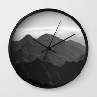 I was a lonely estate  Wall Clock