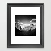 The View From Tunnel Vie… Framed Art Print